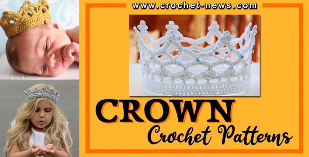 CROCHET CROWN PATTERNS