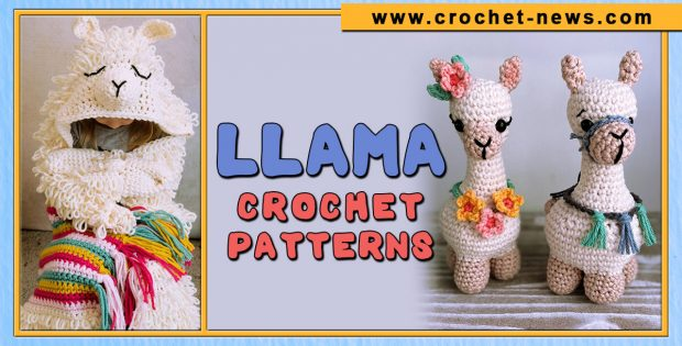 LLAMA CROCHET PATTERNS