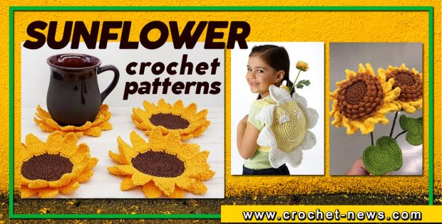 CROCHET SUNFLOWER PATTERNS
