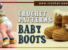 CROCHET BABY BOOTS PATTERNS