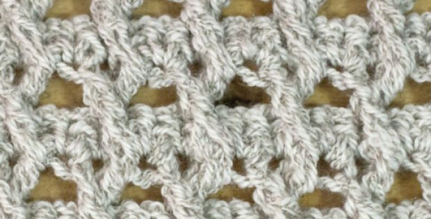 Crossed Ripple Stitch Tutorial