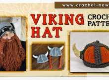 CROCHET VIKING HAT PATTERNS
