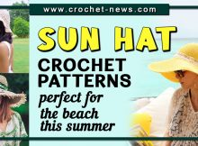 CROCHET SUN HAT PATTERNS PERFECT FOR THE BEACH THIS SUMMER