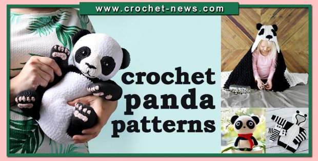 CROCHET PANDA PATTERNS