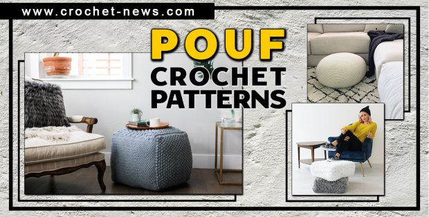 CROCHET POUF PATTERNS