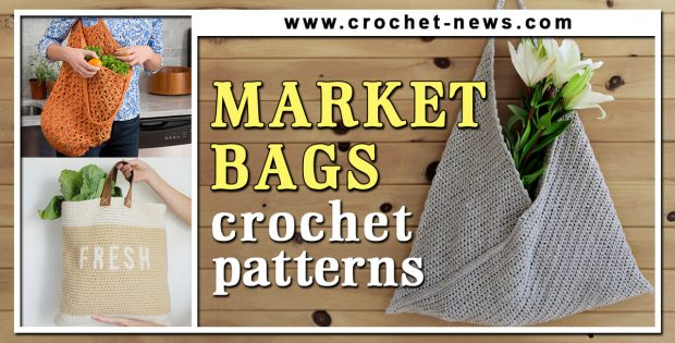 CROCHET MARKET BAG PATTERNS