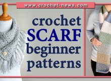 CROCHET SCARF BEGINNER PATTERNS
