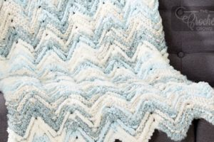 raised chevron stitch