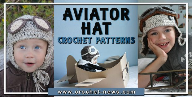 CROCHET AVIATOR HAT PATTERNS