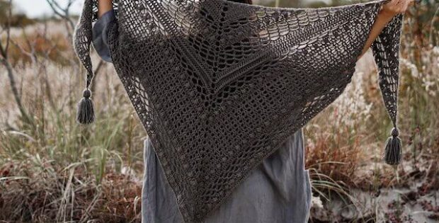 Catalina Wrap Free Crochet Pattern by Two Of Wands