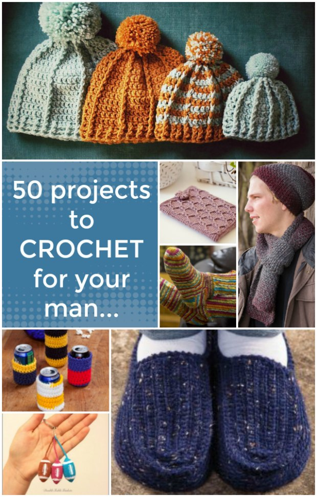 Crochet Pattern For Men 50 Projects
