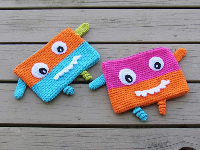 Crochet Pencil Case or Pouch