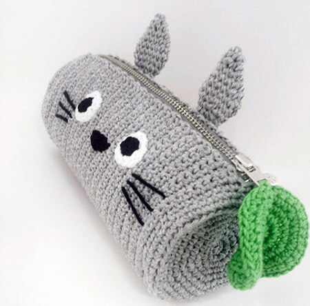 Totoro Crochet Pencil Case Pattern By MariiArts
