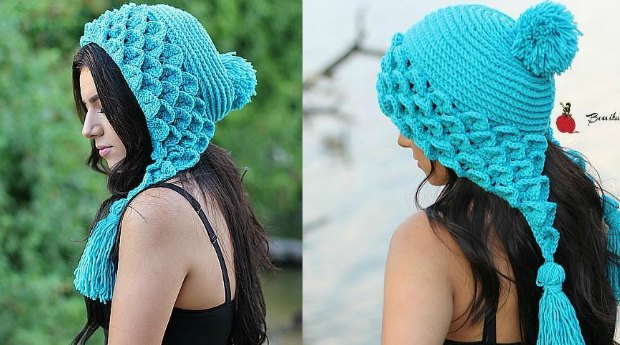 Crocodile Stitch Hat Pattern