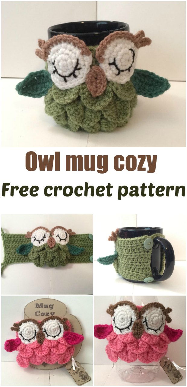 Free Owl Tea Cosy Crochet Pattern