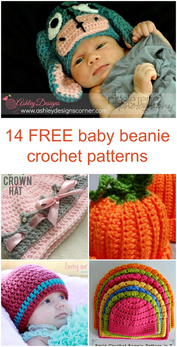 Baby Beanie Hat Crochet Patterns 14 Free Tutorials Crochet News