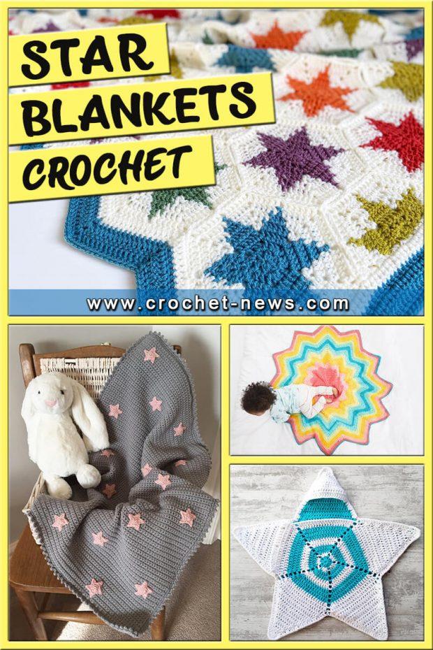 CROCHET STAR BLANKETS