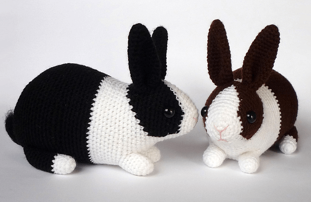 free crochet Easter bunny pattern Archives ⋆ Crochet Kingdom (23 ... | 411x631