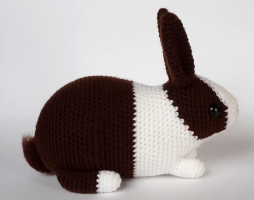 Velvet Bunny Amigurumi Free Crochet Pattern - Crochet For You | 400x506
