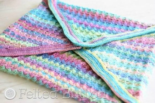 Crochet Baby Blanket Pattern Spring Into Summer