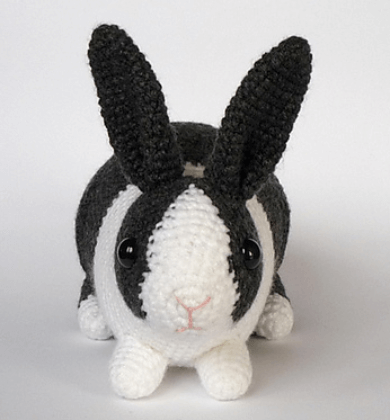 Crochet Bunny Dutch Rabbit Amigurumi Pattern Crochet News