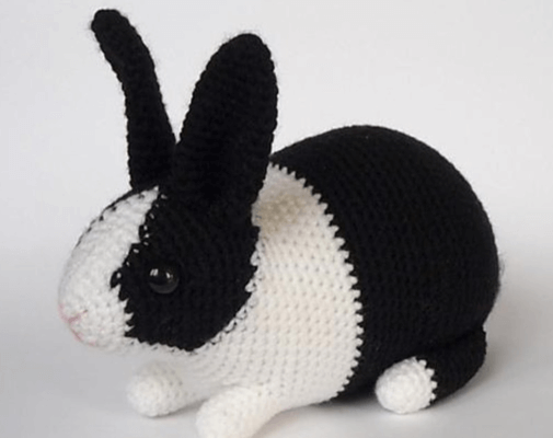 Crochet Bunny Dutch Rabbit Amigurumi Pattern Crochet News Classy Crochet Rabbit Pattern