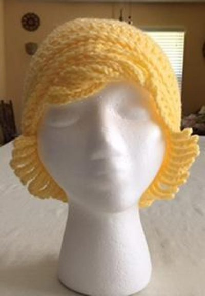 Crochet Chemo Hat With Hair Pattern Free Tutorial