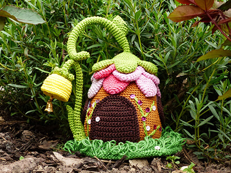 Fairies Cottage Crochet Doorstop Pattern By KnotenzeugbyKaRa