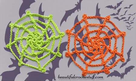 Free Cute Crochet Spider Web Pattern By Beautiful Crochet Stuff