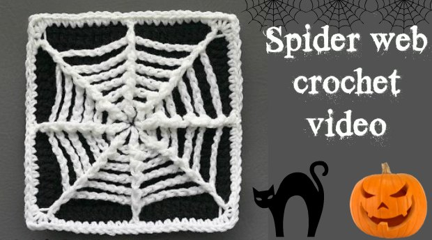 Crochet Spider Web Coaster Pattern Crochet News