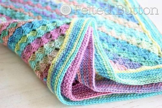 Free spring into summer blanket crochet pattern