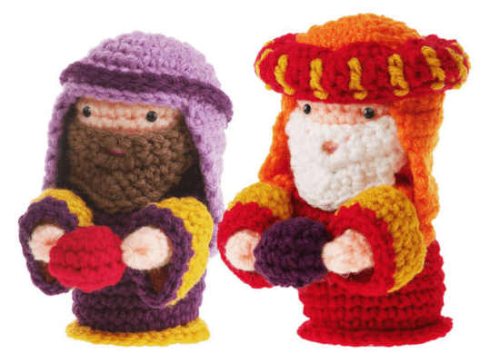 6ichthusfish: Free PDF Crochet Patterns | Nativity set, Holiday ... | 400x539