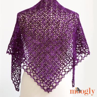 Fortunes Crochet Shawlette Pattern Free Tutorial