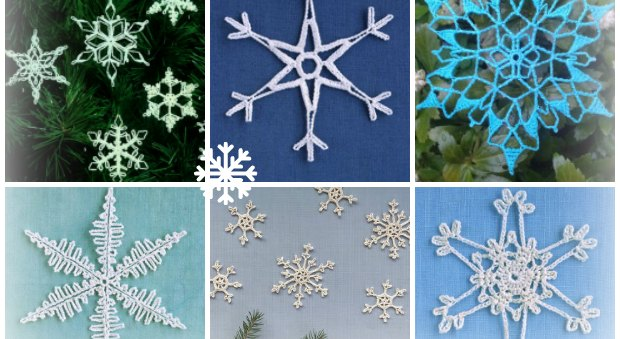 crochet snowflake magical patterns