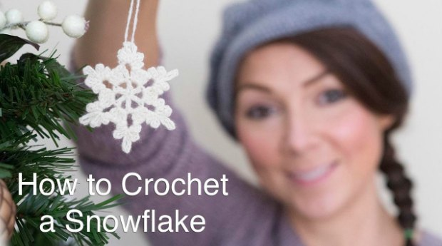 snowflake pattern crochet tutorial