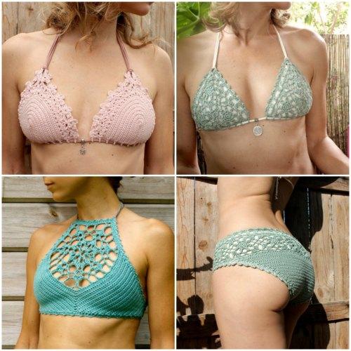 Fabulous crochet bikini patterns that you'l love