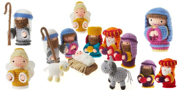 Free Christmas Crochet Nativity Scene Amigurumi Pattern