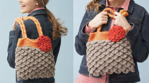Crochet Mermaid Tears Purse Free Pattern And Video