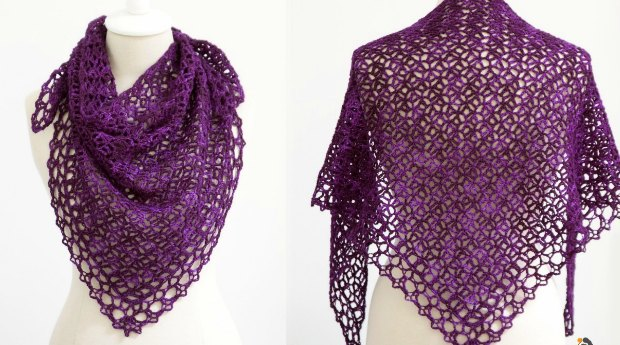 Fortunes Crochet Shawlette Pattern Free Video And Written Tutorial