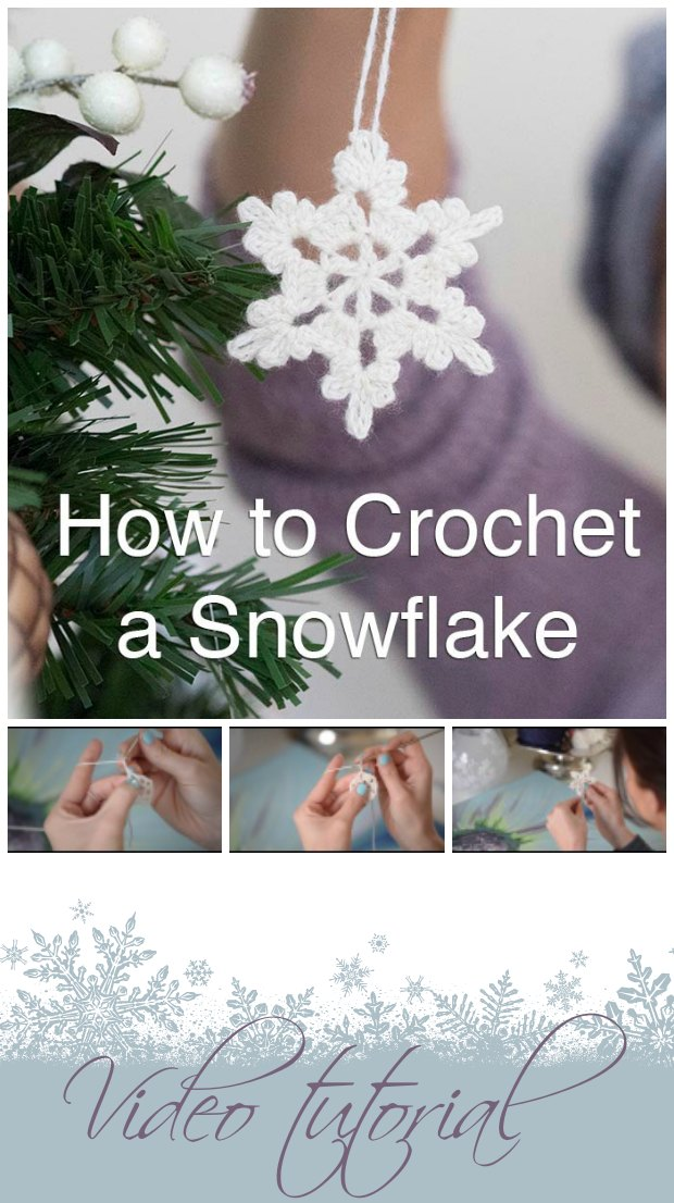 snowflake pattern crochet