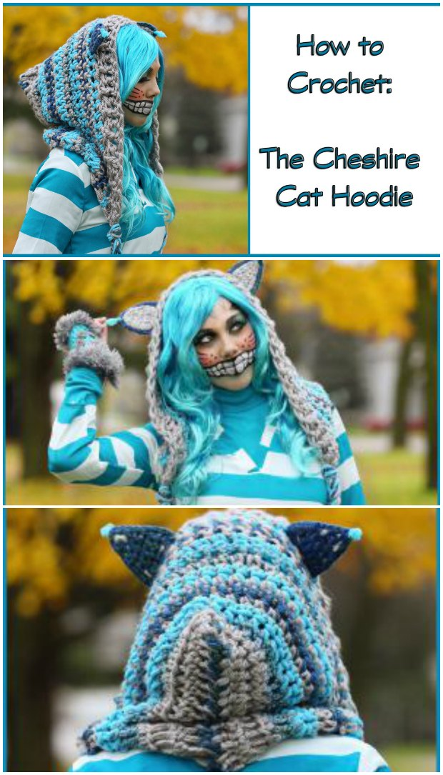 Cheshire Cat Hoodie Crochet Pattern Crochet News