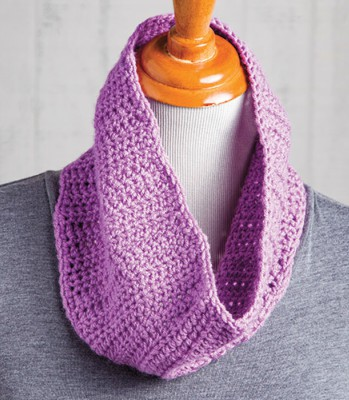 Crochet A Cowl Left Handed