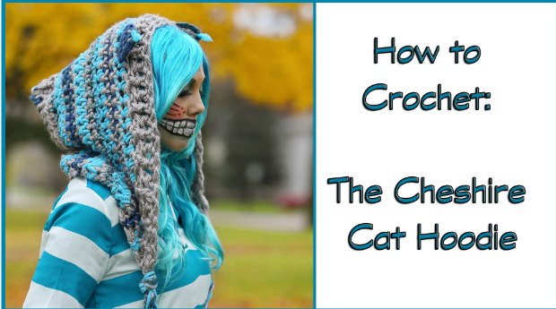 Cheshire Cat Hoodie Crochet Pattern