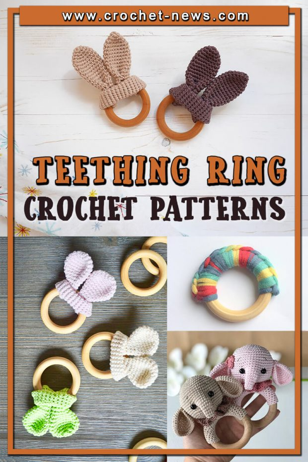 CROCHET TEETHING RING PATTERNS