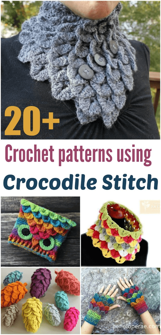 20 Crochet Crocodile Stitch Patterns And Projects Crochet News