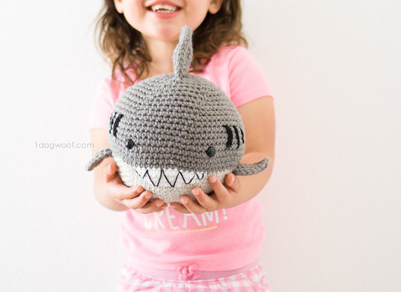 Crochet Shark Amigurumi Pattern