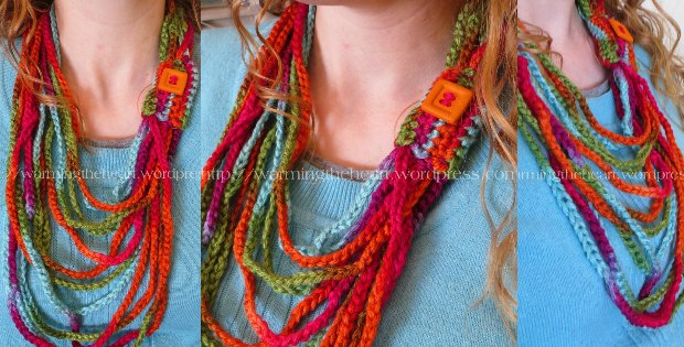 Crochet Chain Scarf - Crochet Beginner Project
