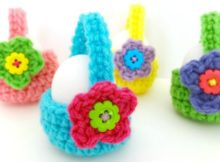 How to crochet egg basket video perfect for the easter egg hunt how to crochet egg basket video fantastic easter gifts negle Images