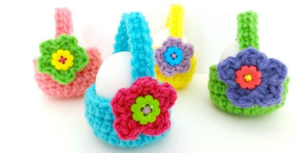 Crochet Egg Basket Fantastic Easter Gifts