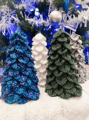 Evergreen Christmas Tree Crochet Pattern by In SL Stitches